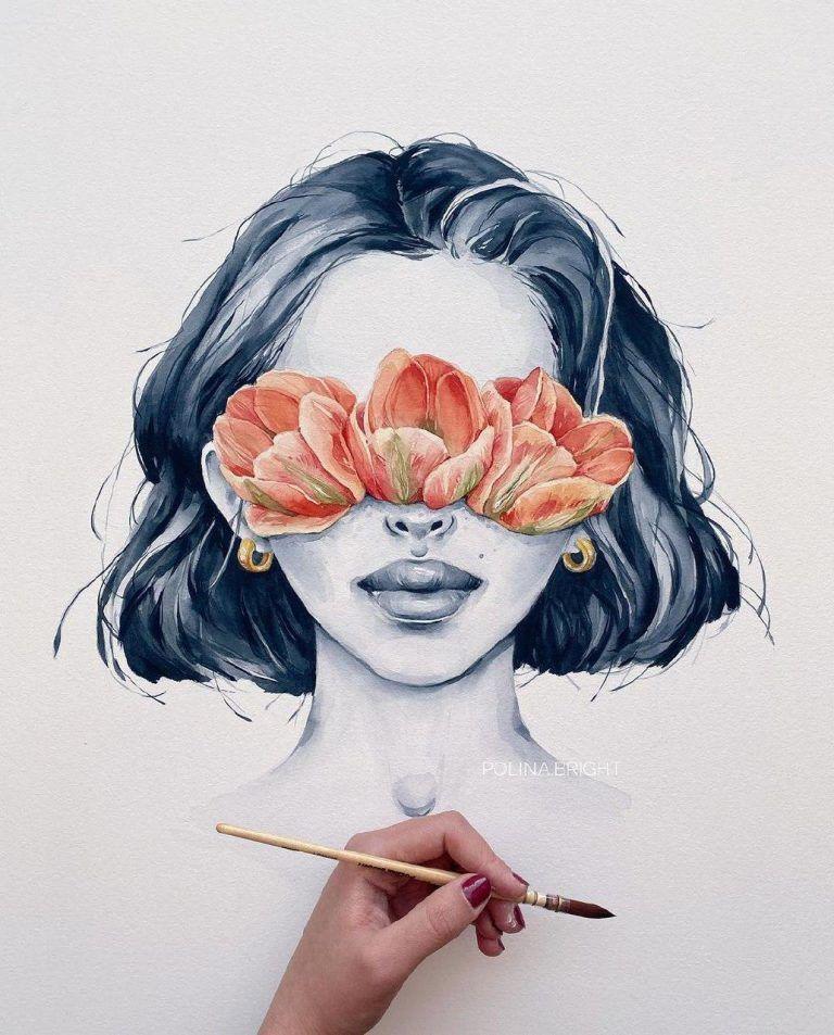 Top Drawing Inspirations In 2020 Wasserfarben Kunst Zeichenvorlagen