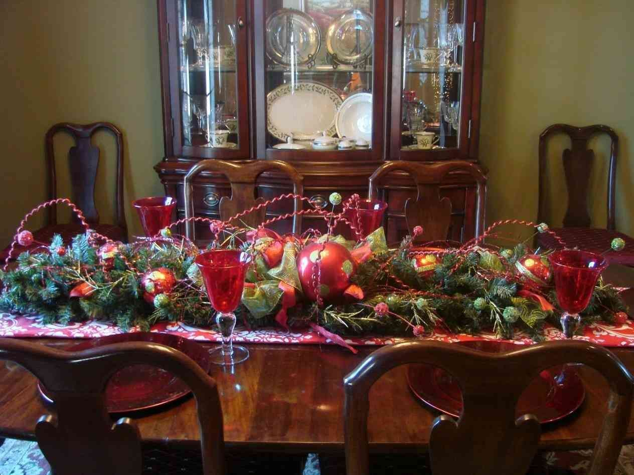 New Posting Rustic Christmas Table Decorating Ideas On This Bdarop Decors