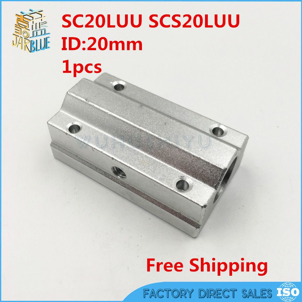SCS8LUU 2 PCS Metal Linear Ball Bearing FOR XYZ Table CNC Route 8mm