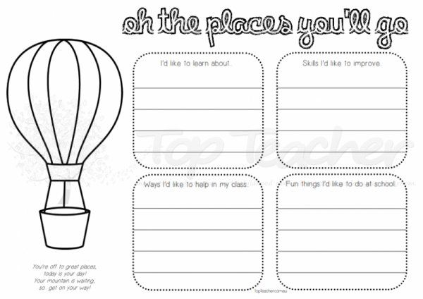 ohio department of education lesson plan template - oh the places you 39 ll go activities google search start