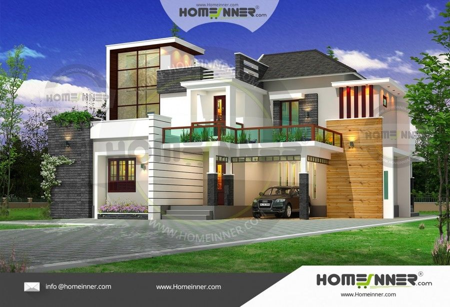 2800 sq ft 4 BHK Ultra Modern Indian Duplex House Plan ...