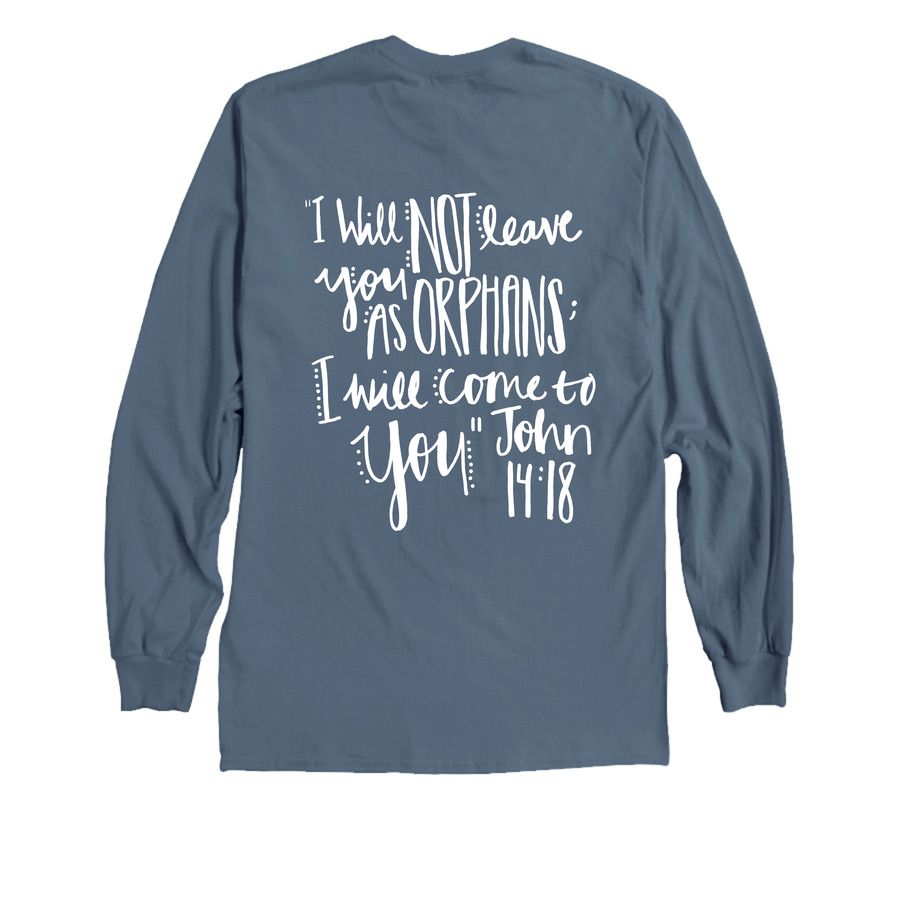 Shirt design easy - Mission Trip Fundraiser Adoption Fundraiser I Will Not Leave You As Orphans