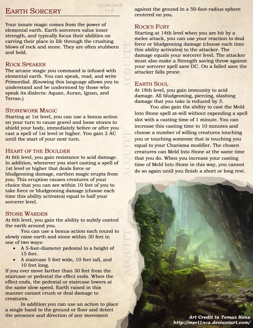 Sorcerer elemental origins by atomicacid dd 5e homebrew sorcerer elemental origins by atomicacid fandeluxe Images
