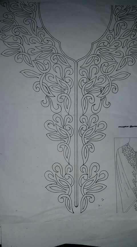 Pin By Aicha Ben On Stitches Hand Embroidery Designs Bead Embroidery Patterns Embroidery Neck Designs