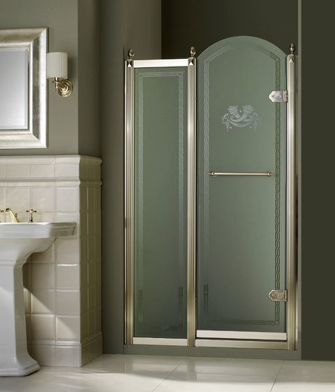 Box Doccia Shabby Chic.Shower Doors Frosted Or Clear Design Arredamento Bagno
