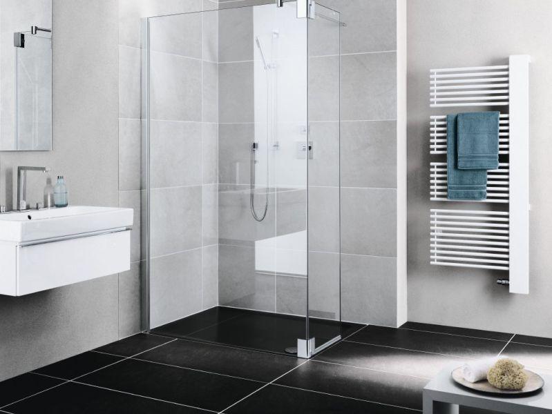 Glaswand Voor Inloopdouche : Een inloopdouche wordt vaak verward met een douche met enkel