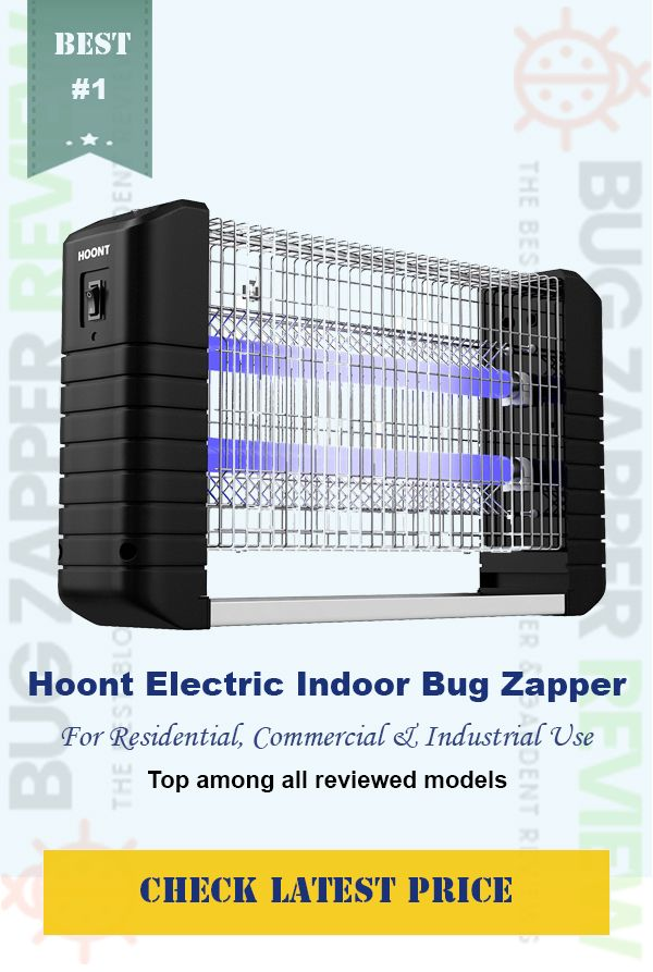Hoont Powerful Electric Indoor Bug Zapper and Fly Zapper EFFECTIVE