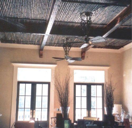 Black Bamboo Ceiling Bamboo Ceiling Ceiling Ceiling Lights