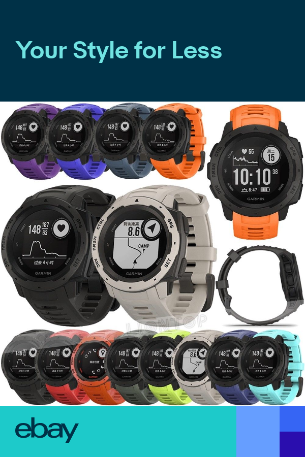 For Garmin Instinct 22mm Replacement Watch Strap Sport Wristband Belt Band New Garmin Watch Strap Garmin Watch