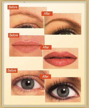 Semi Permanent Makeup Semi Permanent Tattoo Makeup With Images Permanent Makeup Permanent Makeup Cosmetics Permanent Cosmetics