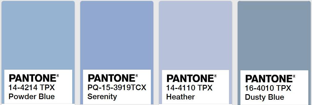 Unique Blue and Grey Color Schemes