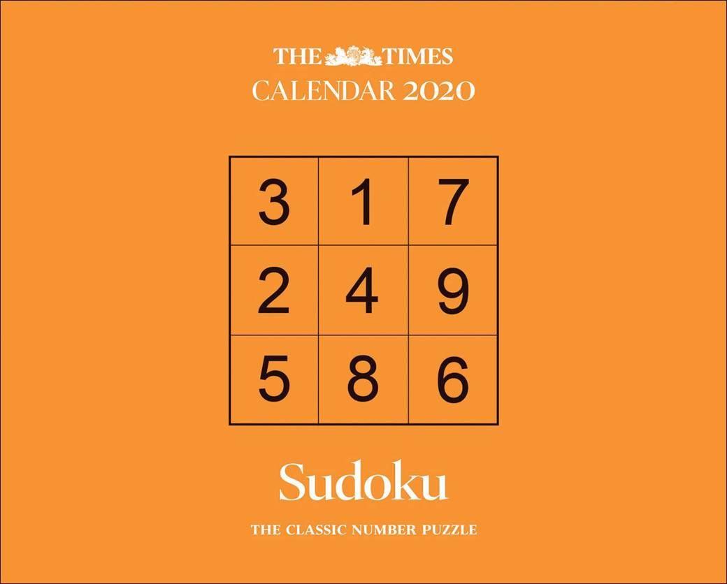 The Times Sudoku Desk Calendar 2021 At Calendar Club Desk Calendars Calendar 2020 Calendar [ 836 x 1040 Pixel ]