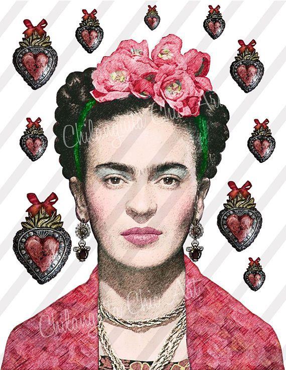 Frida Kahlo 4 Files 1 Jpg 3 Png Formats Digital Collage Frida Kahlo Pinturas Frida Kahlo Frida Khalo