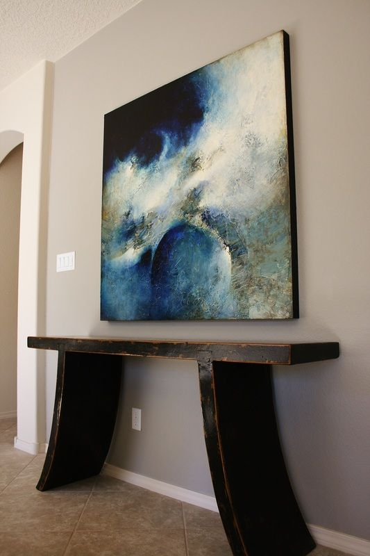 New Large Colorful Paintings