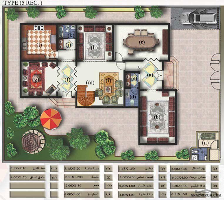 نماذج فلل الشروق من السديرى مخطاطات بلانات Arabia Villas Dream Design Holiday Decor House Plans
