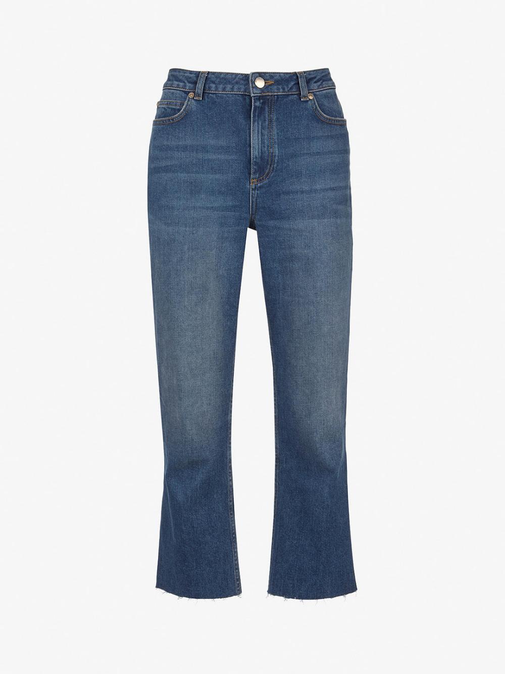 classic promo codes new products Mint Velvet Meribel Straight Jeans, Dark Blue | Actual ...