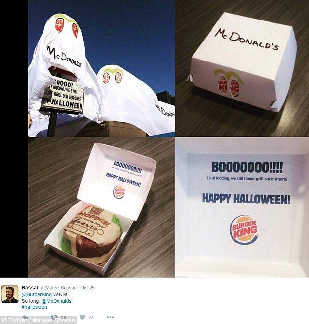 a step further the packaging in the location also had mcdonald s written on it in