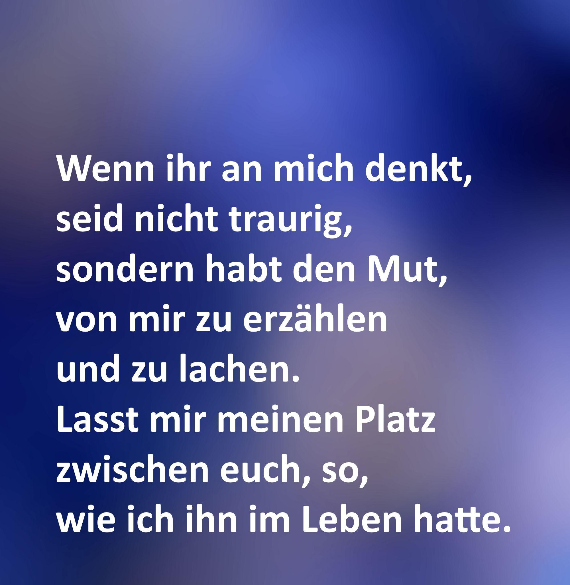 Textbilder Gestalten Iris Willecke Spruche Trauer Trauer Texte Trostende Worte