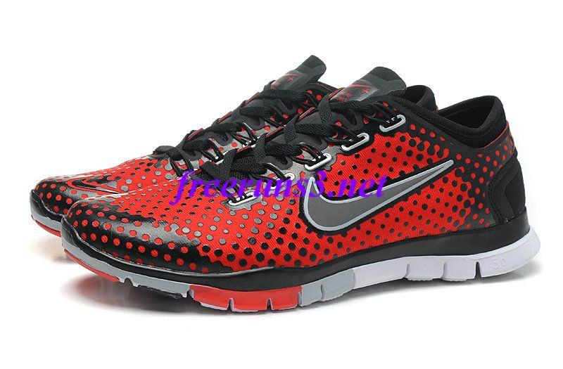 mens nike free tr fit all red