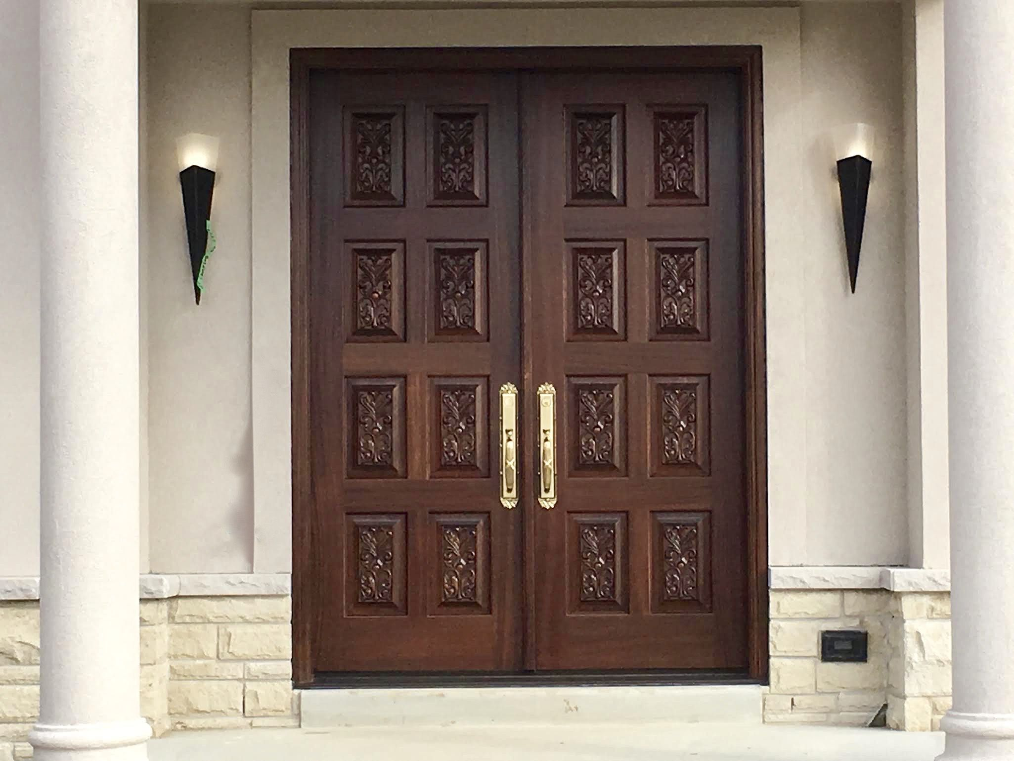 Amberwood Doors Inc: *NEW CONSTRUCTION* Features Gorgeous #custommade #solid