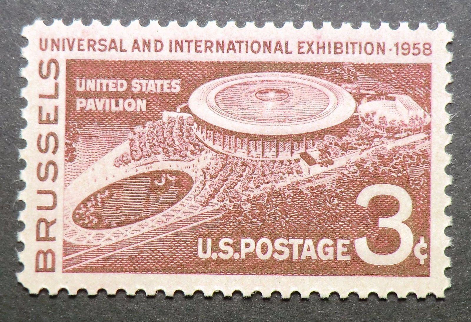 1104 Mnh 1958 3 Brussels Exhibition Belgium 1st World S Fair After Wwii Ebay Exhibition World S Fair Stamp Collecting
