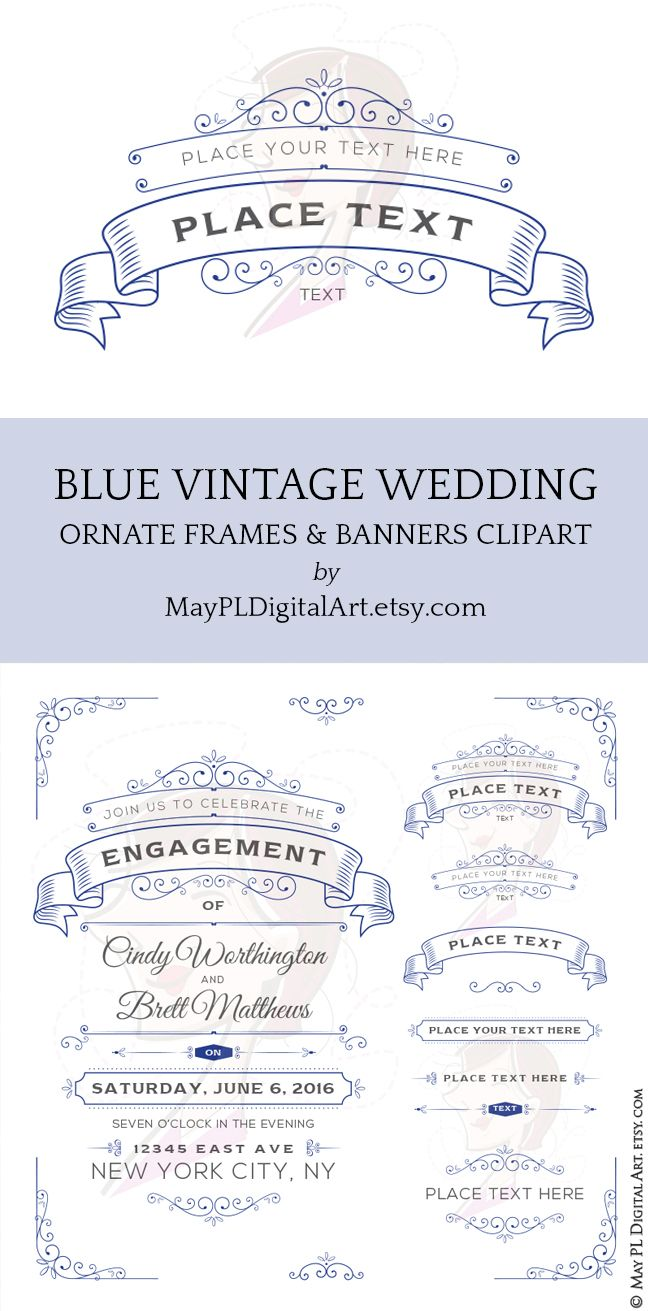 Blue Wedding Invitations Make Your Own Invites With These Cobalt