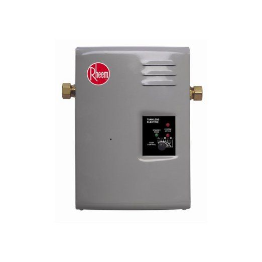 Rheem Rte 9 Electric Tankless Water Heater 3 Gpm Amazon Com Tankless Water Heater Water Heater Electric Water Heater