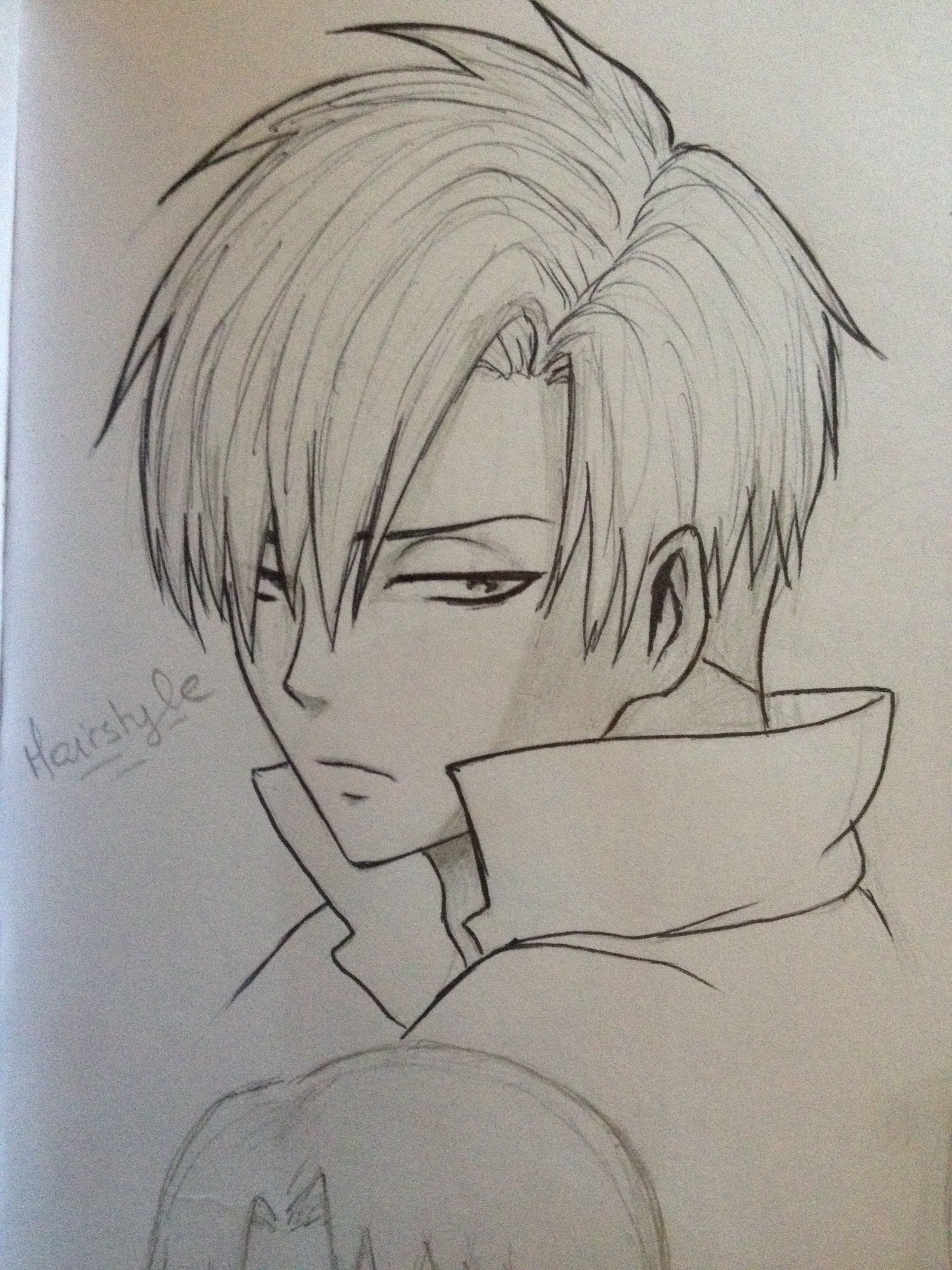 Levi new hairstyle from J Attack on titan Attack on
