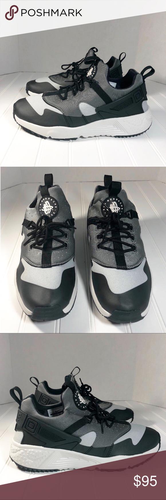 huge discount 3ec79 6d294 Nike Huarache Utility Gray 806807-003 Size 8.5 New without box Nike  Huarache Utility Base Gray Style ID  806807-003 Brand  Nike Color  Silver Black White  ...