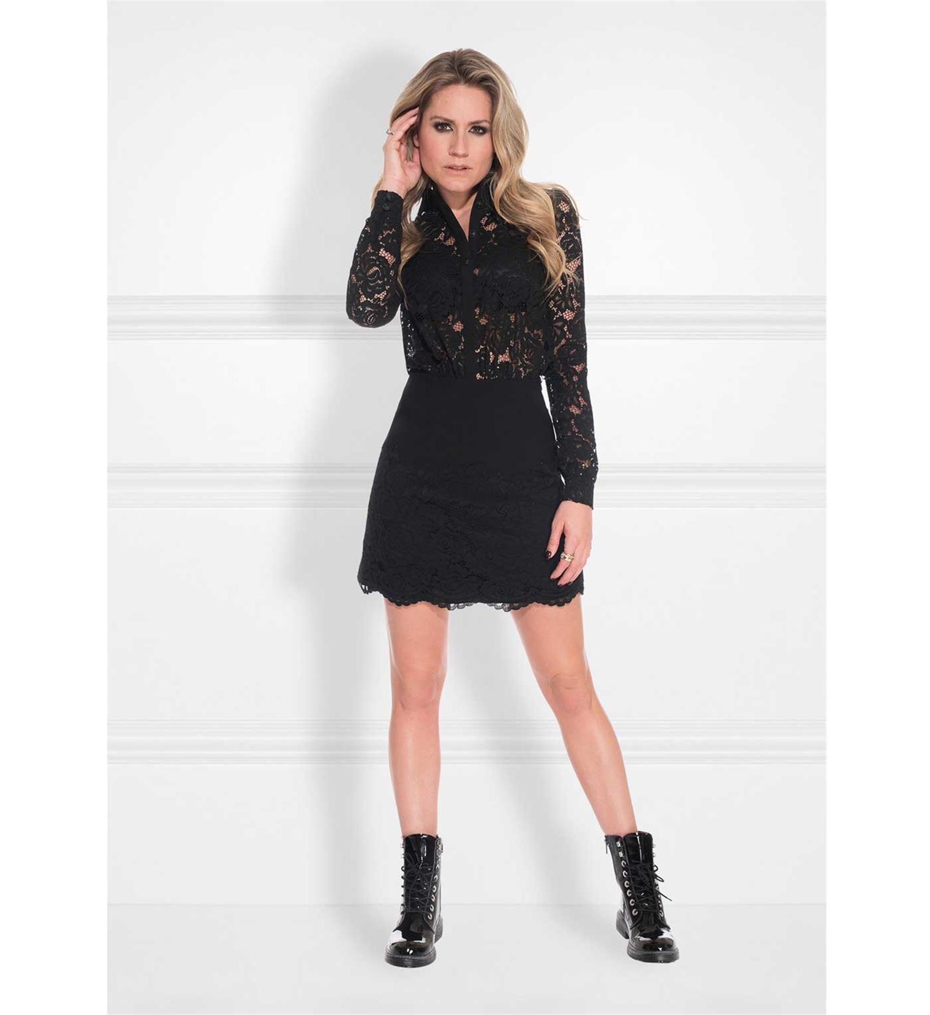 Goede nikkie-korte-jurken-n5424-lori-dres-zwart (met afbeeldingen PK-75