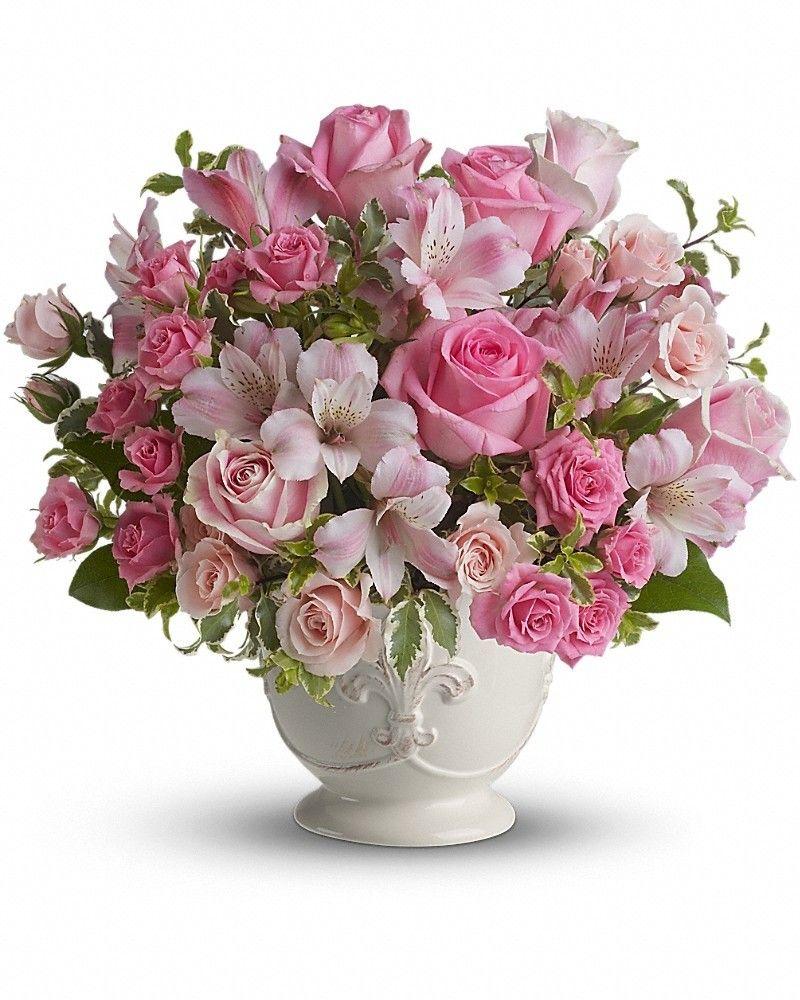 Pink potpourri bouquet pinterest potpourri sympathy flowers and pink potpourri bouquet izmirmasajfo