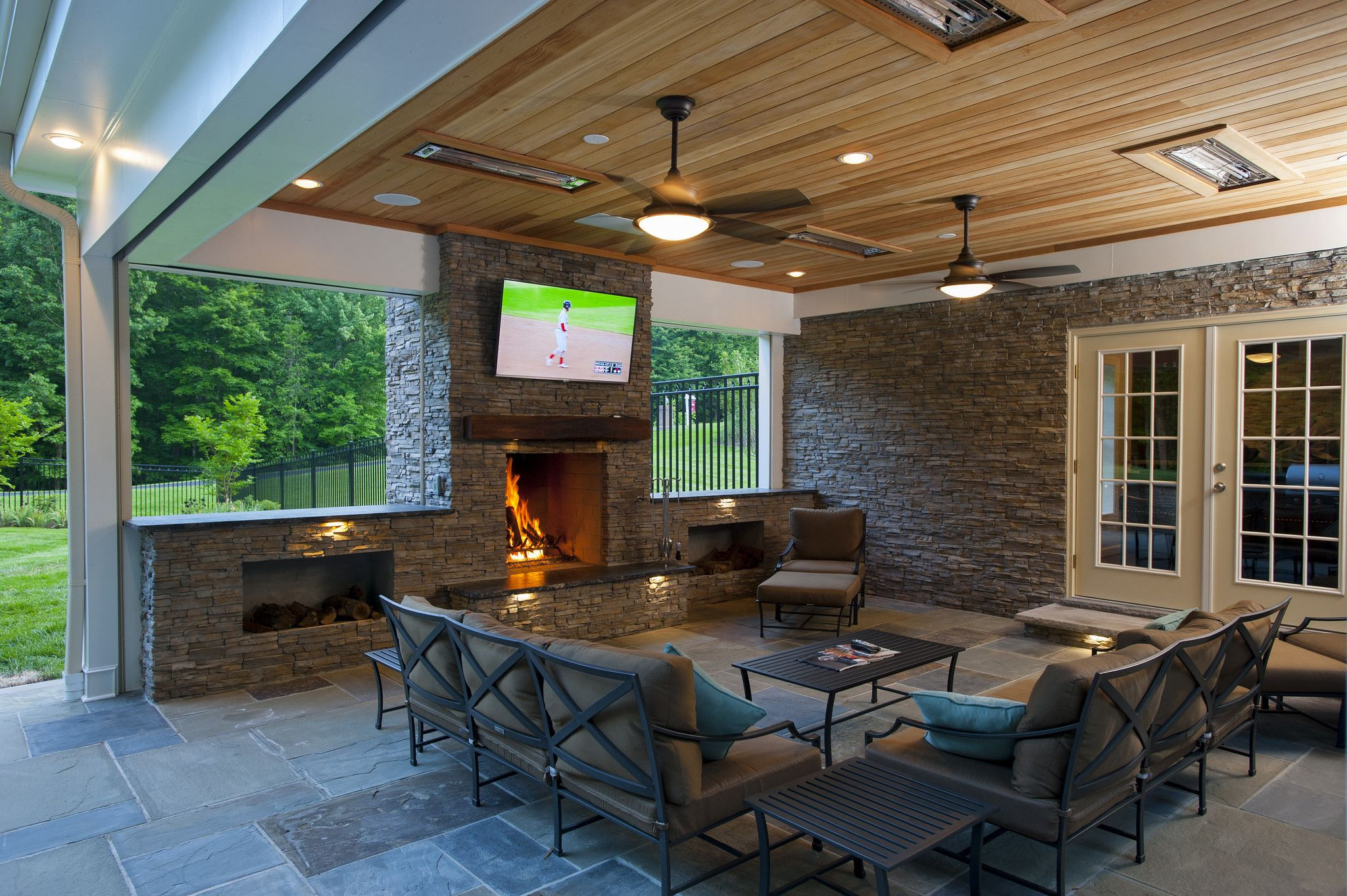 21st century outdoor living in clifton va infrared heater