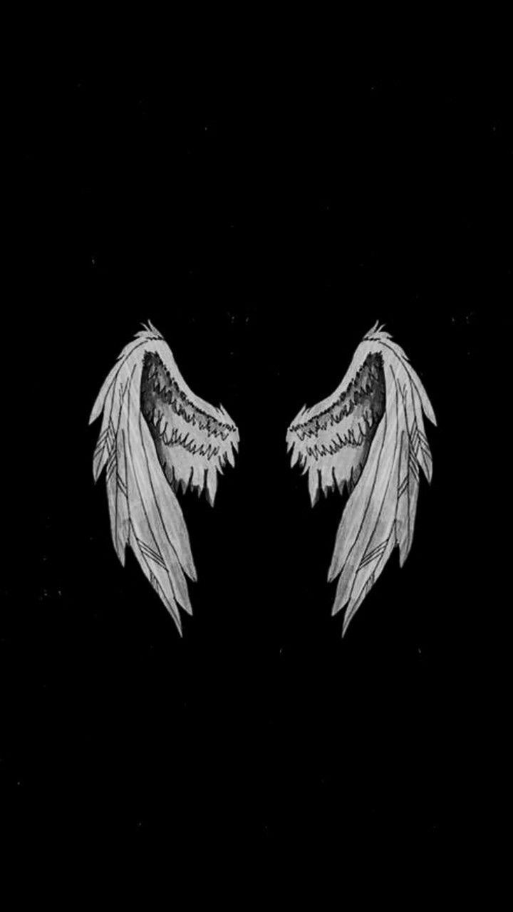 Beautiful Couples Searching Dating Flint Supernatural Wallpaper Wings Wallpaper Angel Wallpaper Aesthetic iphone angel wings wallpaper