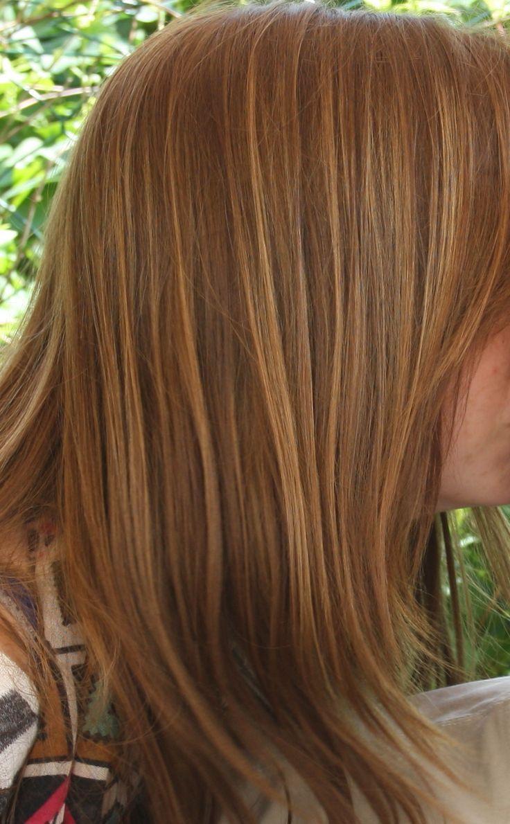 cheveux couleur chocolat balayage miel coloration des cheveux moderne. Black Bedroom Furniture Sets. Home Design Ideas