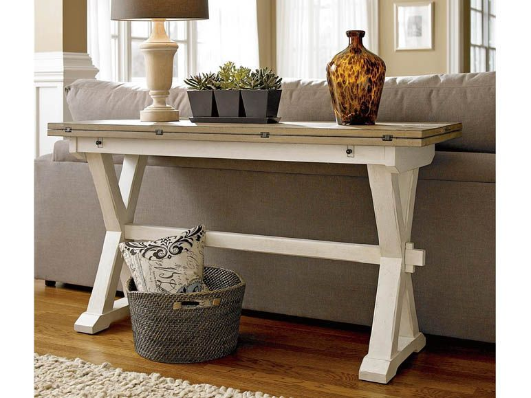 Great Rooms Casual Dining And Accents Drop Leaf Console Table