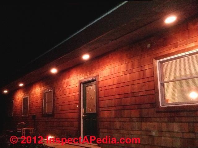 Vinyl Roof Soffit Covering C D Friedman Electrical Diy