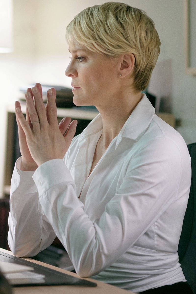 Claire Underwood Hair : claire, underwood, Robin, Wright, Haircut, Ideas, Wright,, Haircut,, Claire, Underwood