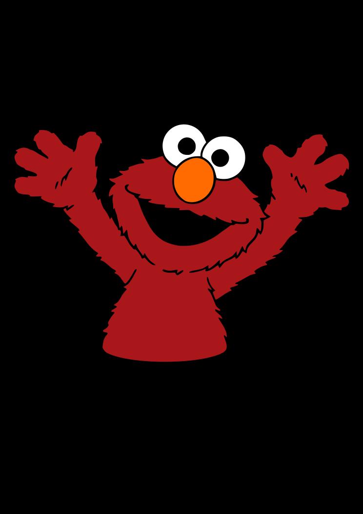 Sesame Street Elmo Clipart Free Svg File Free Clip Art Svg Free Files Free Svg