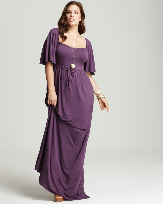 Plus Size Romeo Flutter Maxi Dress in Jewel by Rachel Pally White ...