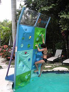 Aqua Climb   Swimming pool   Swimming pools, Climbing wall ...