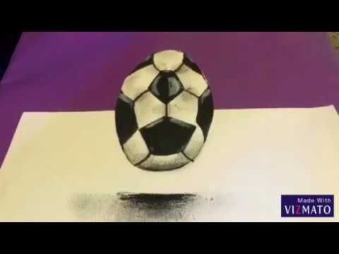 Awesome How To Draw A 3d Soccer Ball Soccer Ball Soccer Ball