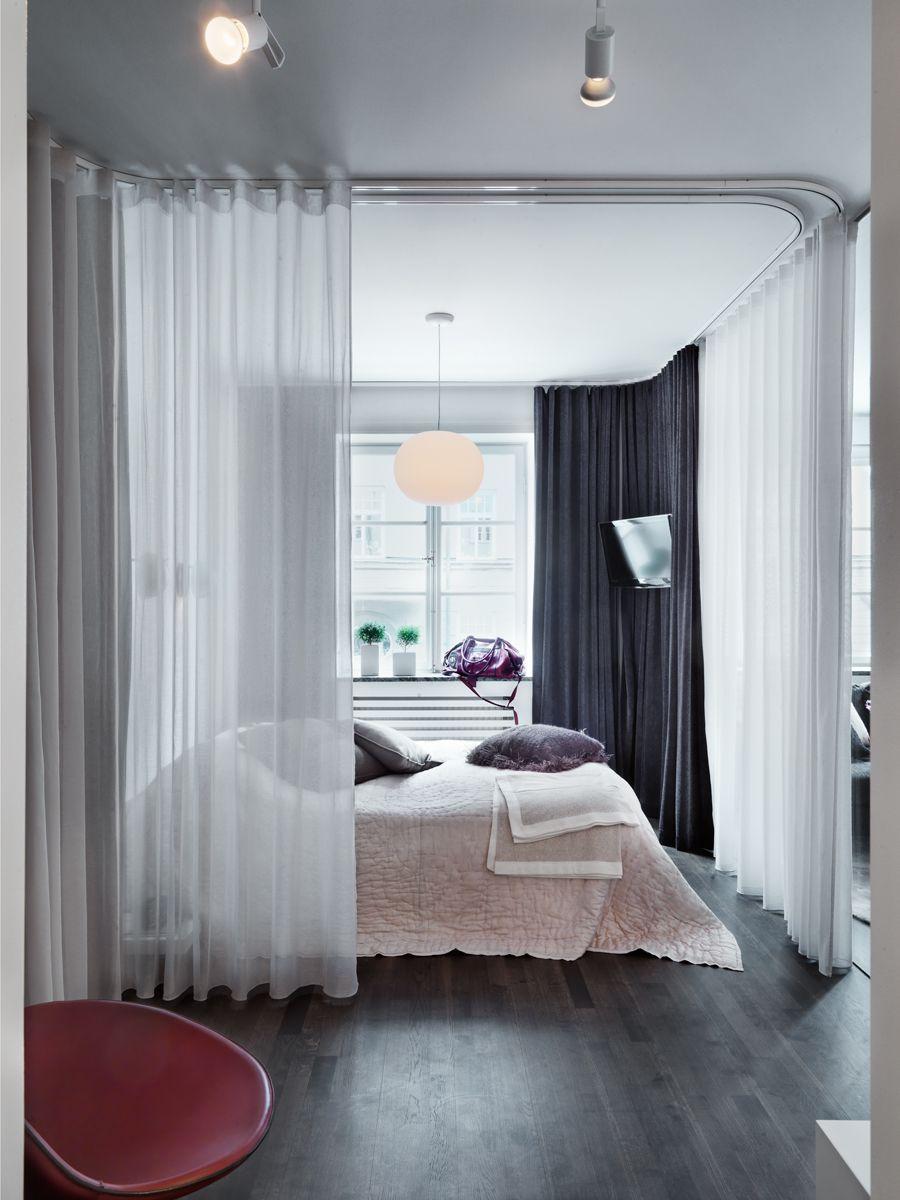 Project all white studio apartment perianth interior design new - 79 Ideas_original Apartment With Colorful Details