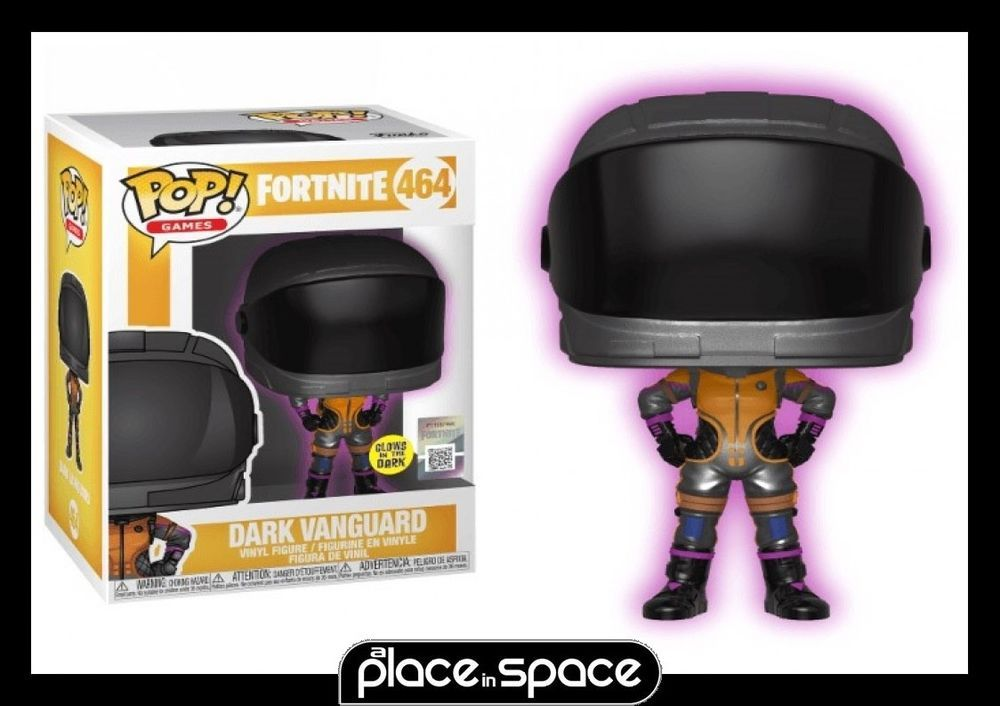 Funko Pop Dark Vanguard Brand New In Box Games: Fortnite Funko