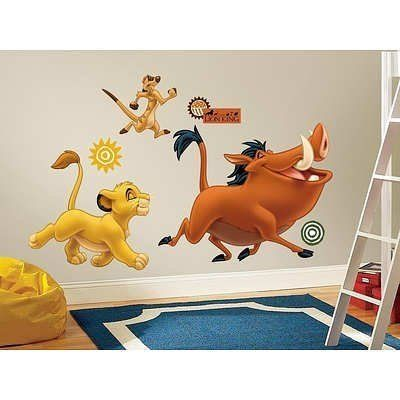 The Lion King Peel  Stick Giant Wall Decals * Want to know more, click on the image.Note:It is affiliate link to Amazon.