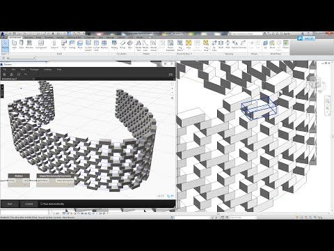 Revit Tips Brick Pattern Wall By Dynamo Youtube Dynamo