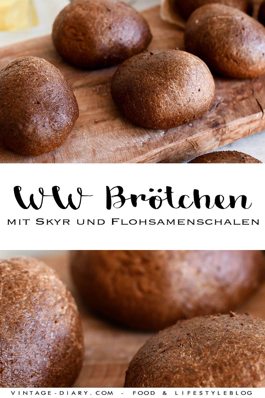 Photo of WW Rezept: Brötchen mit Skyr und Flohsamenschalen – vintage-diary