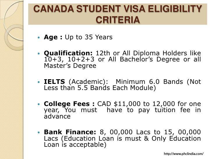Know The Canada Student Visa Eligibility Criteria