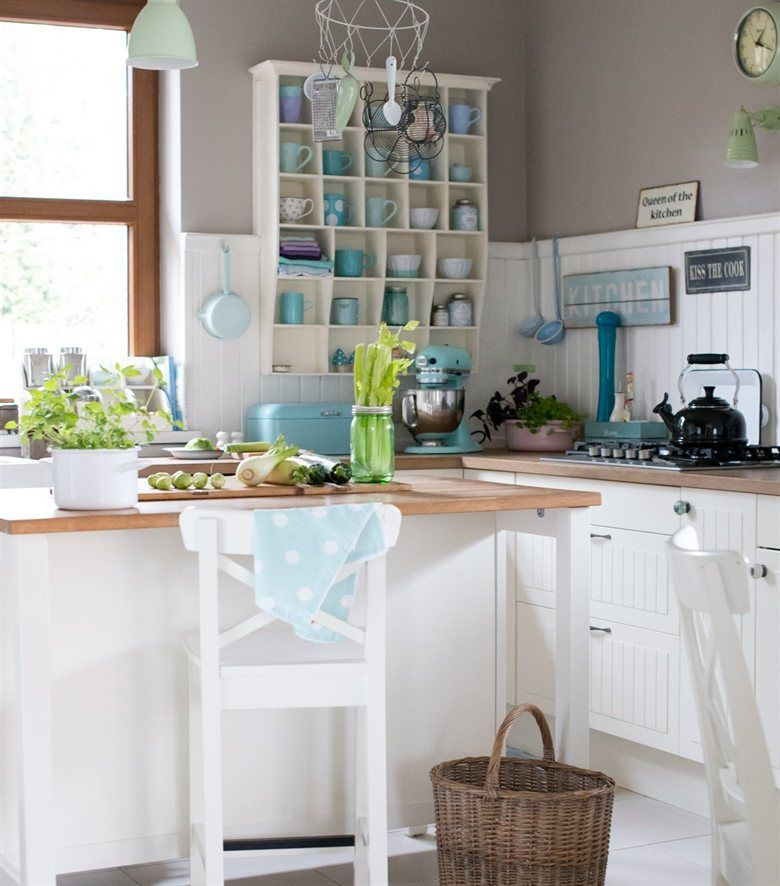 Merveilleux Add A Stool To Your Kitchen Island, To Make It A Comfy Spot To Chop