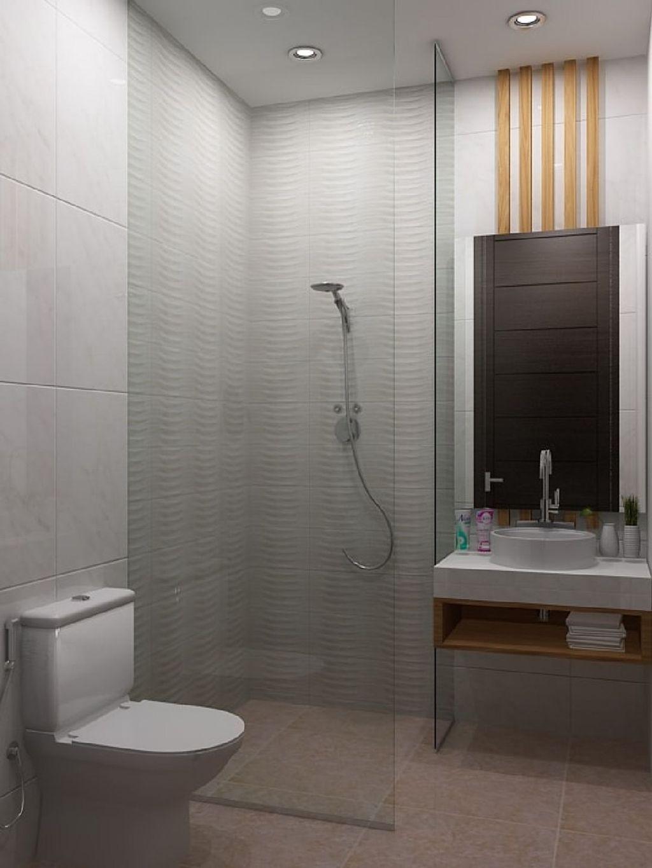 30 Simple Minimalist Bathroom Shower Design Ideas Trenduhome Minimalist Bathroom Bathroom Shower Design Modern Bathroom Design Minimalist bathroom model size