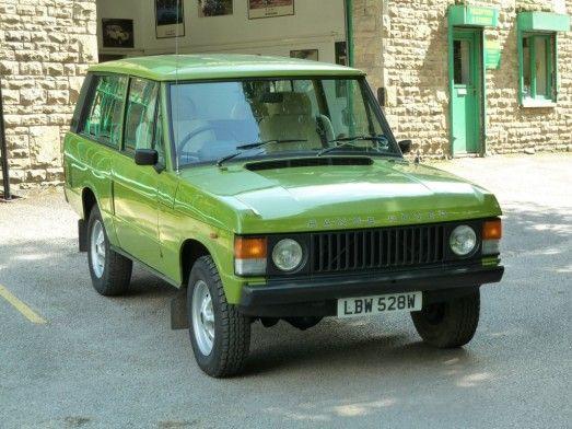 Lbw 528w Warwick Green 1981 Range Rover Sold Land Rover Centre Range Rover Range Rover Classic Landrover Range Rover